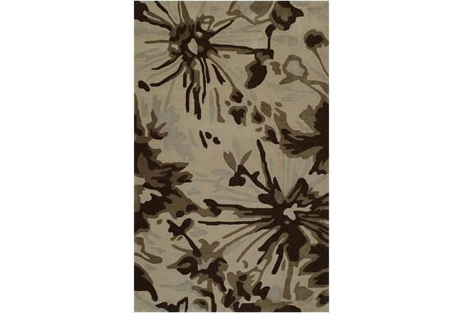 60X90 Rug-Floral Burst Taupe - 360