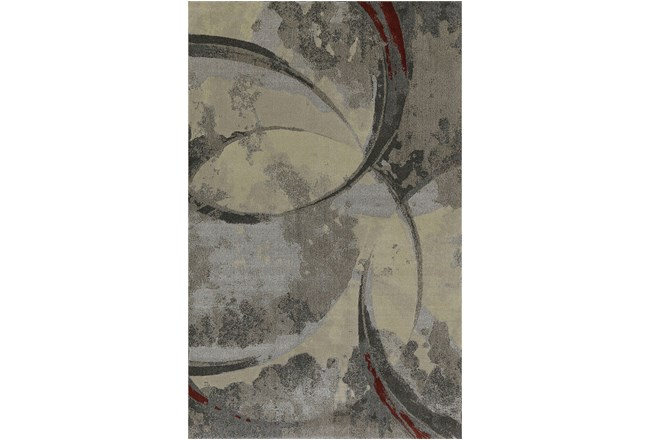 114X158 Rug-Crescent Pewter - 360