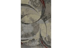 39X61 Rug-Crescent Pewter