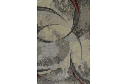 94X127 Rug-Crescent Pewter