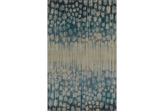 94X127 Rug-Rain Forest Pewter - 360