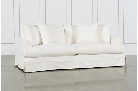Solano Slipcovered Sofa - Main