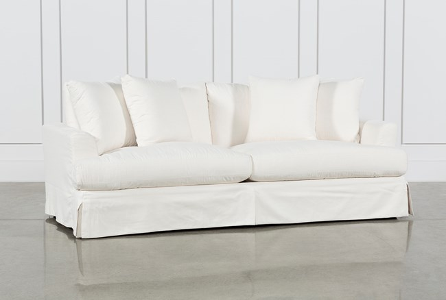 Solano Slipcovered Sofa - 360