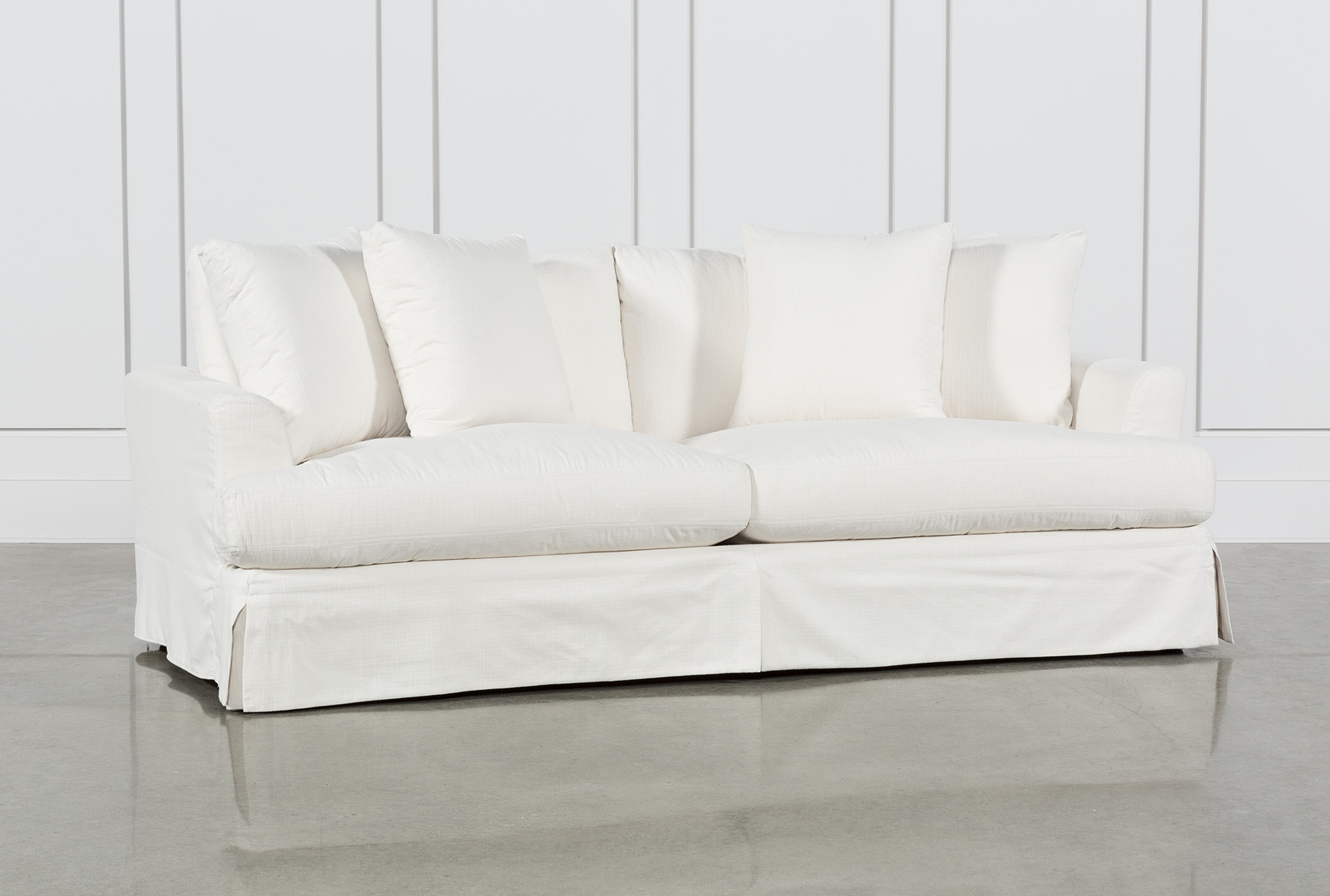 Exceptionnel Solano Slipcovered Sofa