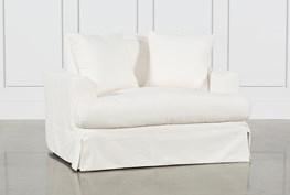 Solano Slipcovered Oversized Chair