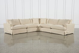Solano Slipcovered 5 Piece Sectional