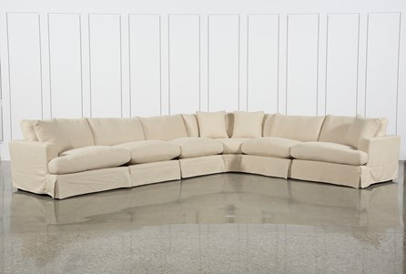Solano Slipcovered 6 Piece Sectional