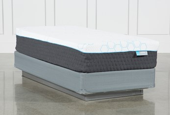 Revive H2 Firm Hybrid Twin Extra Long Mattress W/Foundation