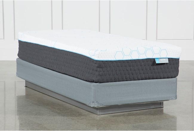 Kit-Revive H2 Firm Hybrid Twin Extra Long Mattress W/Foundation - 360