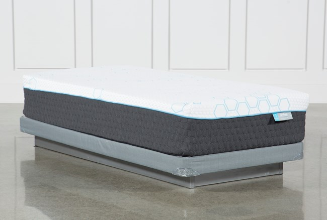 Revive H2 Firm Hybrid Twin Extra Long mattress W/Low Profile Foundation - 360