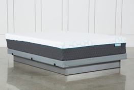 H2 Firm Hybrid Full Mattress W/Low Profile Foundation