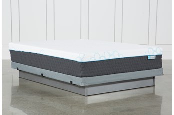 Kit-Revive H2 Firm Hybrid Full Mattress W/Low Profile Foundation