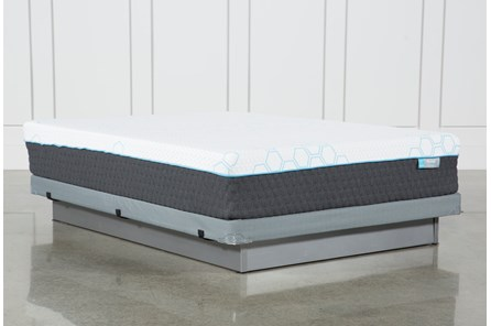 H2 Firm Hybrid Full Mattress W/Low Profile Foundation - Main