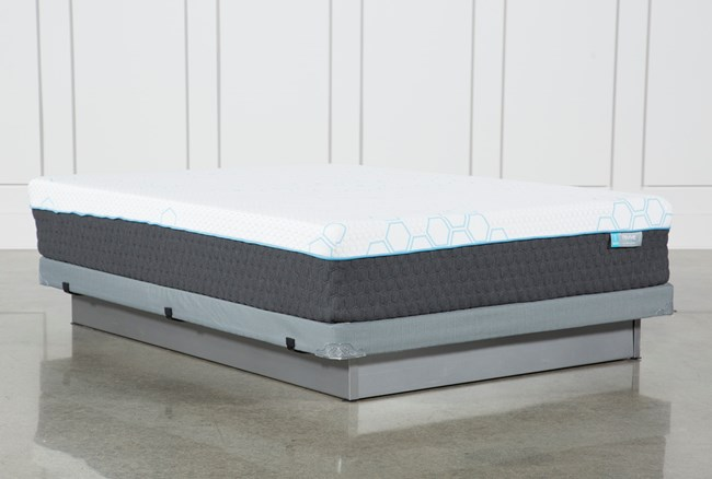 H2 Firm Hybrid Full Mattress W/Low Profile Foundation - 360
