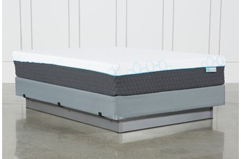 Kit-Revive H2 Firm Hybrid Queen Mattress W/Foundation