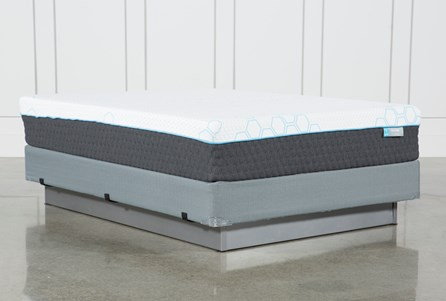 H2 Firm Hybrid Queen Mattress W/Foundation