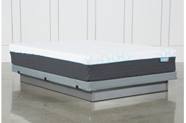 H2 Firm Hybrid Queen Mattress W/Low Profile Foundation