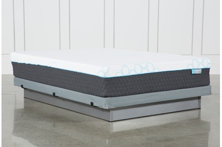 H2 Firm Hybrid Queen Mattress W/Low Profile Foundation - Main