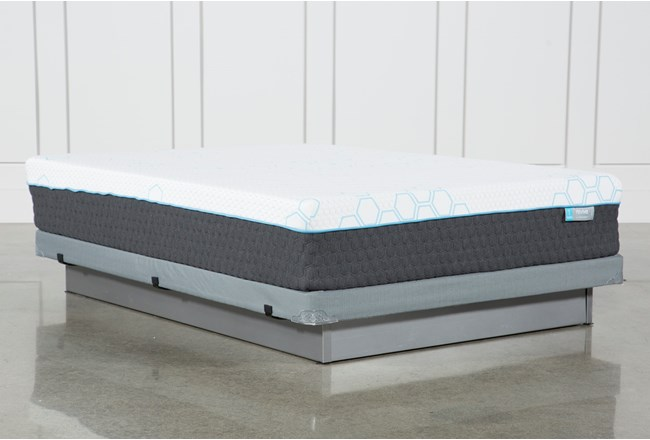 H2 Firm Hybrid Queen Mattress With Low Profile Foundation - 360