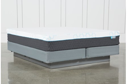 H2 Firm Hybrid Cal King Mattress W/Foundation