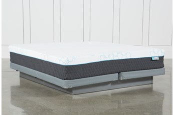 Kit-Revive H2 Firm Hybrid California King Mattress W/Low Profile Foundation