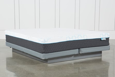 H2 Firm California King Mattress W/Low Profile Foundation