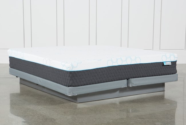 Revive H2 Firm Hybrid California King Mattress W/Low Profile Foundation - 360