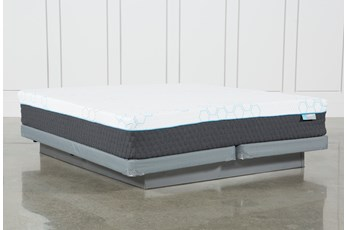 Kit-Revive H2 Firm Hybrid Eastern King Mattress W/Low Profile Foundation