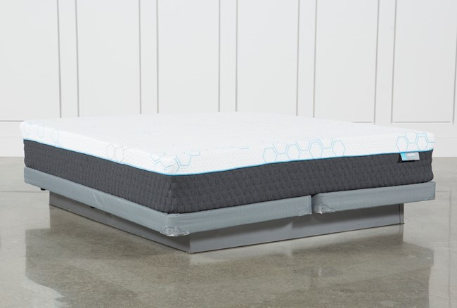 Revive H2 Firm Hybrid Eastern King Mattress W/Low Profile Foundation - 360
