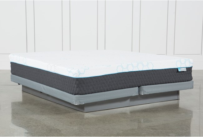 H2 Firm Hybrid Eastern King Mattress W/Low Profile Foundation - 360