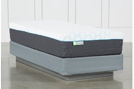 H2 Medium Hybrid Twin Mattress With Foundation
