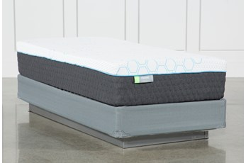 Kit-Revive H2 Medium Hybrid Twin Mattress W/Foundation