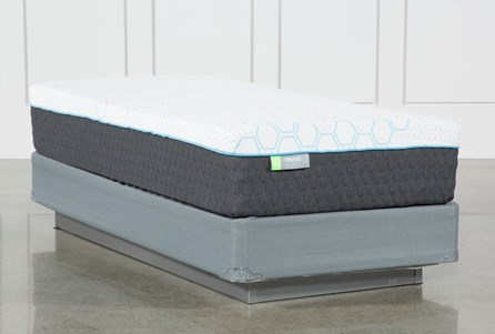 H2 Medium Twin Mattress W/Foundation