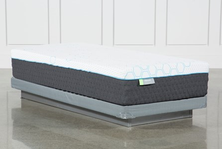 H2 Medium Twin Mattress W/Low Profile Foundation