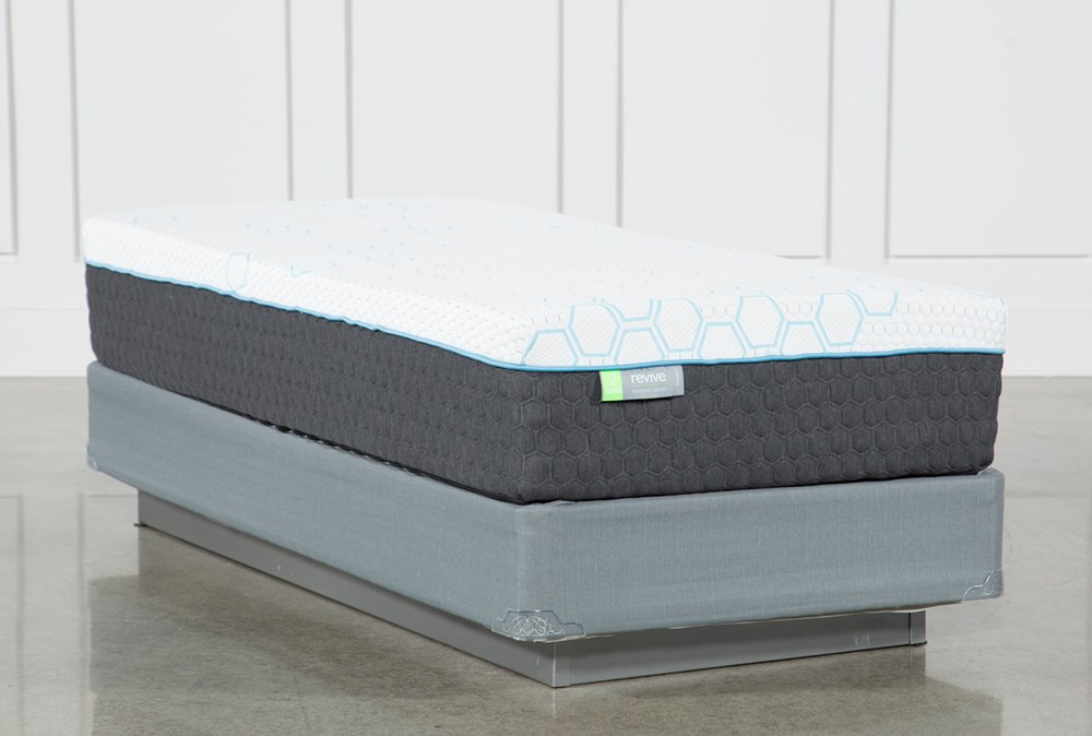 Kit-Revive H2 Medium Hybrid Twin Extra Long Mattress W/Foundation
