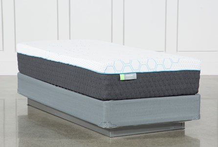 H2 Medium Twin Extra Long Mattress W/Foundation