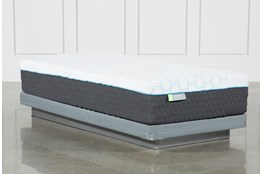 Kit-Revive H2 Medium Hybrid Twin Extra Long Mattress W/Low Profile Foundation