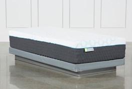 Revive H2 Medium Hybrid Twin Extra Long Mattress W/Low Profile Foundation