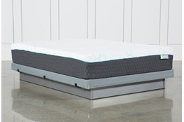 H2 Medium Hybrid Full Mattress With Low Profile Foundation