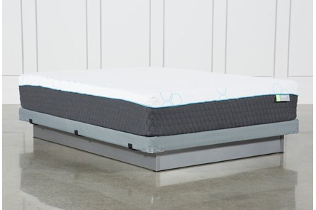 H2 Medium Hybrid Full Mattress W/Low Profile Foundation - Main