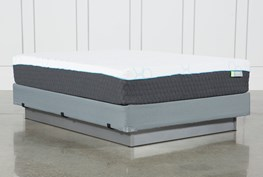 H2 Medium Hybrid Queen Mattress W/Foundation