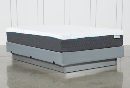 H2 Medium Queen Mattress W/Foundation