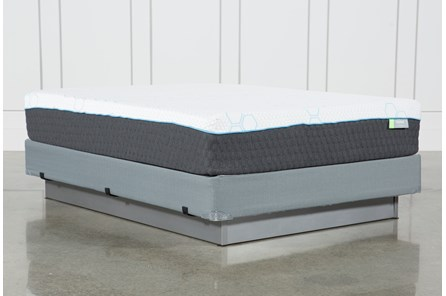 H2 Medium Hybrid Queen Mattress W/Foundation - Main