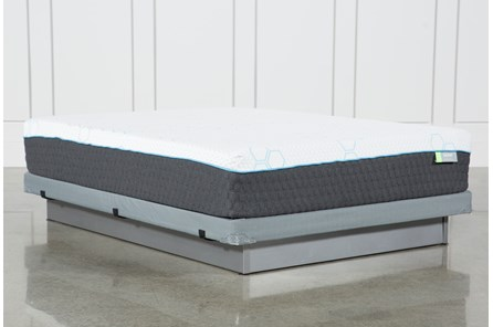 H2 Medium Hybrid Queen Mattress W/Low Profile Foundation - Main