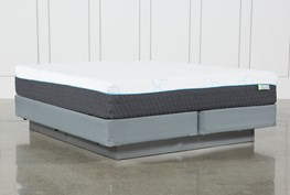 H2 Medium Hybrid Cal King Mattress W/Foundation