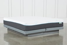 Kit-Revive H2 Medium Hybrid California King Mattress W/Low Profile Foundation