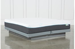 H2 Medium Hybrid Cal King Mattress With Low Profile Foundation