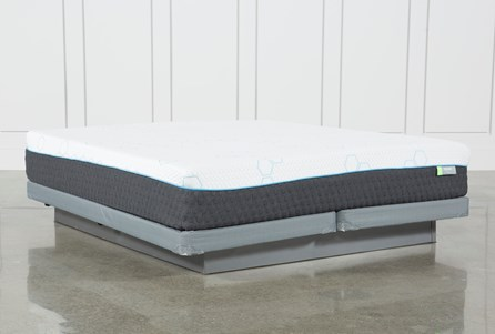 H2 Medium California King Mattress W/Low Profile Foundation
