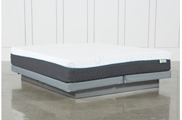 H2 Medium Hybrid Eastern King Mattress With Low Profile Foundation