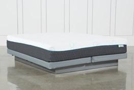Revive H2 Medium Hybrid Eastern King Mattress W/Low Profile Foundation